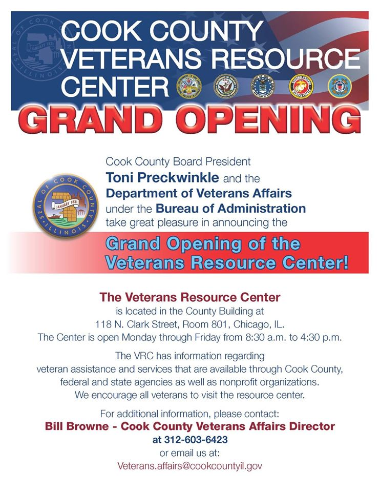 Veteran Resources - Cook County Veterans Resource Center