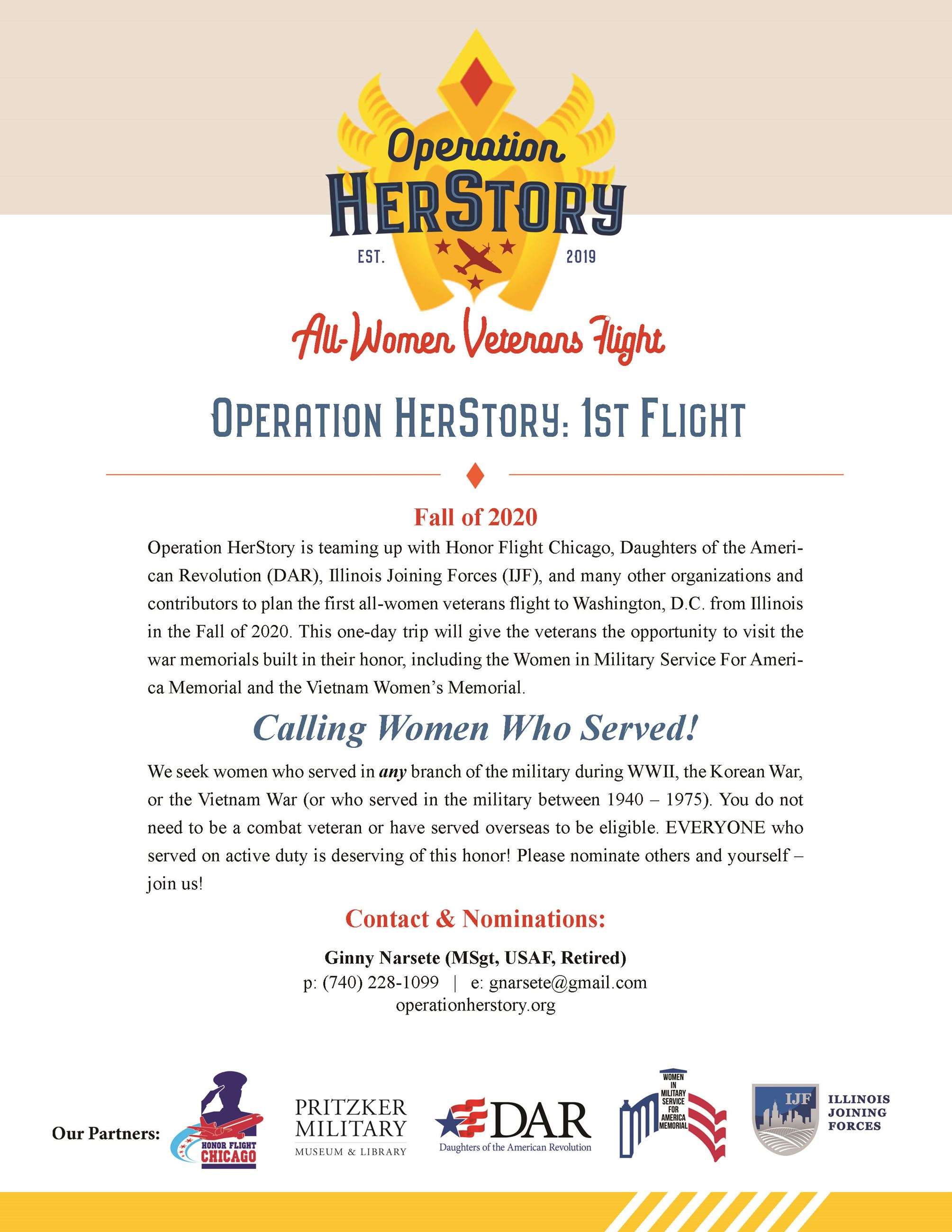 Veteran Resources - Operation HERstory All Women Veterans Flight