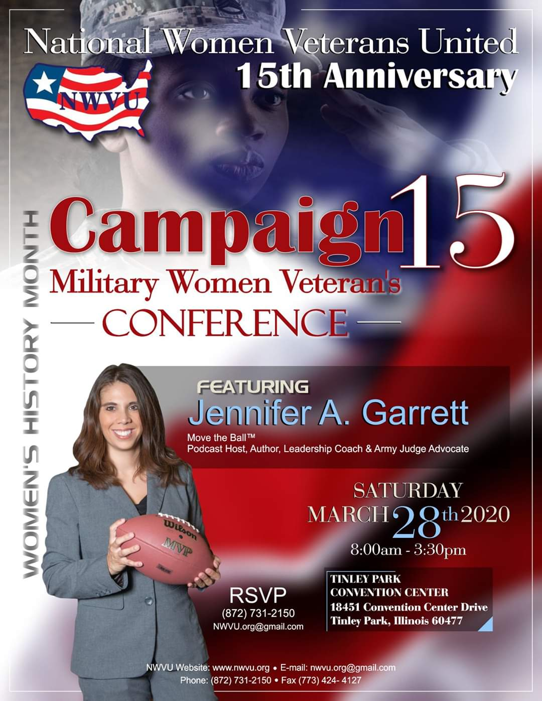 Flyer - National Womens Veterans 15th Anniversary Conference
