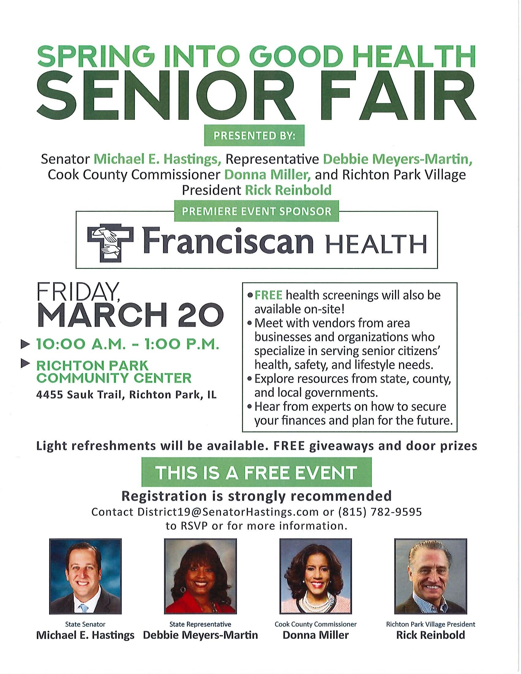 Flyer - Senior Health Fair - 03-20-20