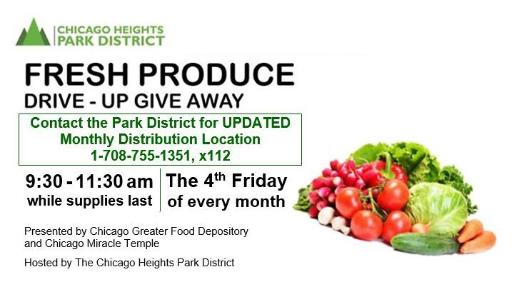 Park District Free Produce 4th Friday of each Month